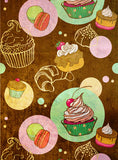 Cupcakes • Retro Backdrops