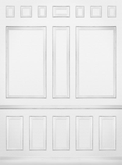 Panels White • Elegant Wall Backdrop