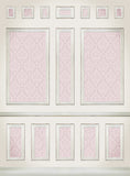 Wallpaper Panels Pink • Elegant Wall Backdrop