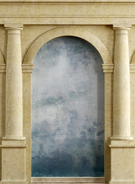 Roman Arch Blue • Doors & Gates