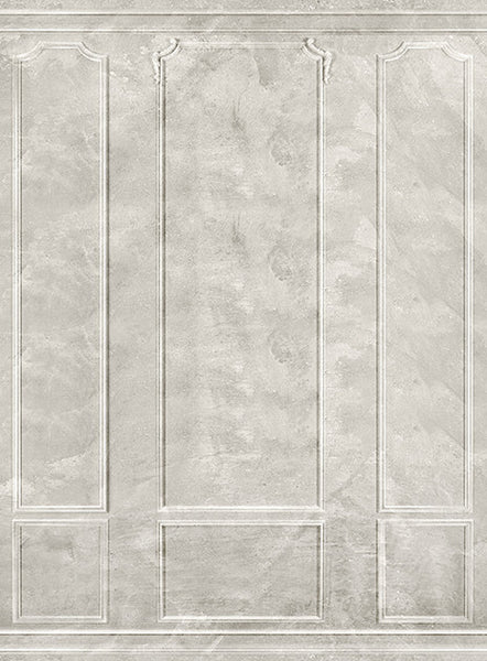 Panel Plaster White • Elegant Wall Backdrop