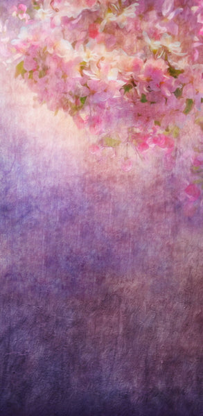 Flower Painting Purple •  Double