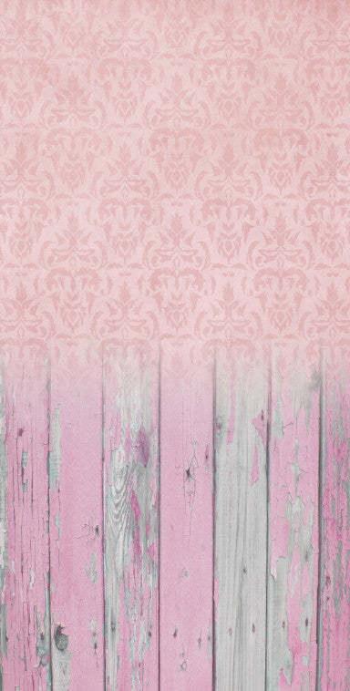 Damask Pale Pink • Make Mine a Double