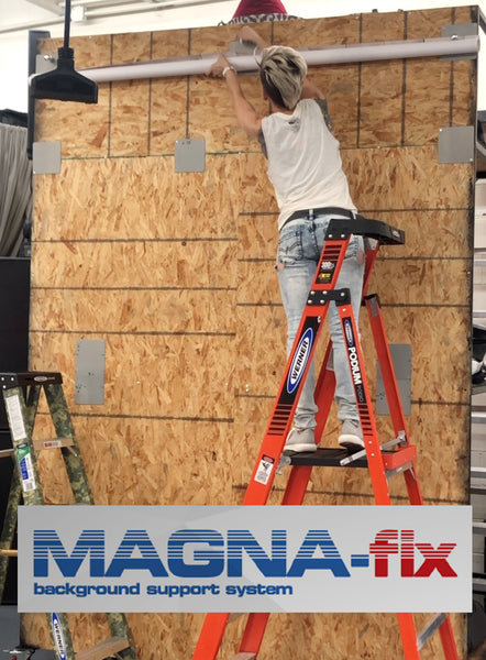 MAGNA-fix: Magnetic Backdrop Support System
