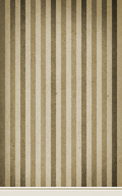 Paper Stripe Brown • Wallpapers