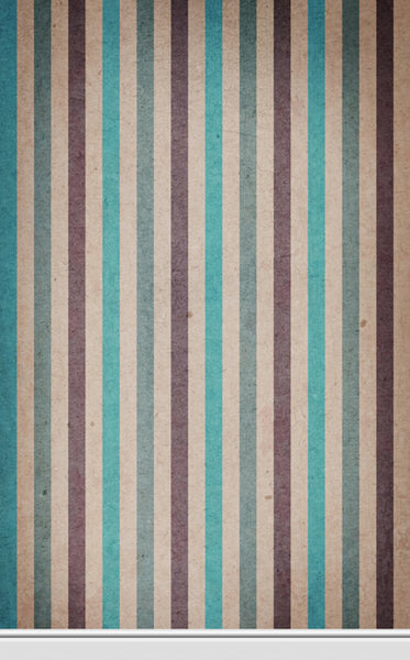 Paper Stripe Teal • Wallpapers