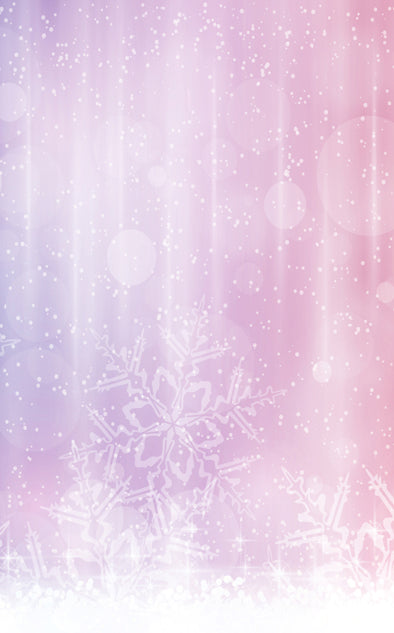 Pink Snowflake • Seasonal • Winter • Christmas