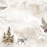 Reindeer Backdrop • Seasonal • Winter • Christmas