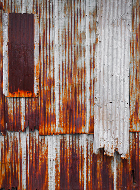 Rusty Shack Backdrop • Metals