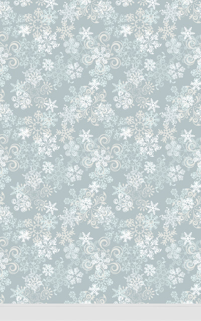 Snowflake Grey • Seasonal • Winter • Christmas