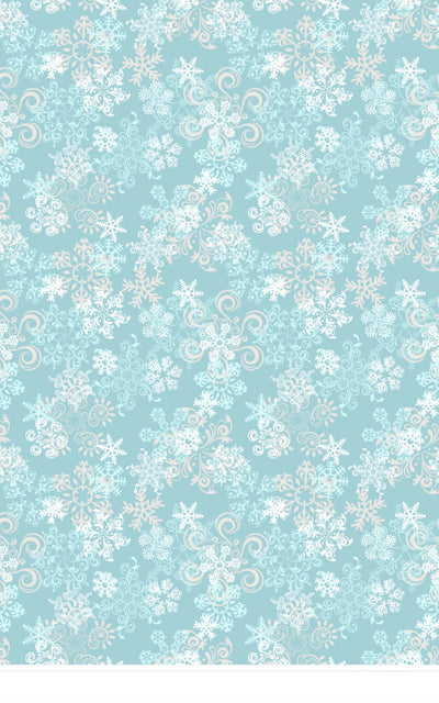 Snowflake Blue • Seasonal • Winter • Christmas