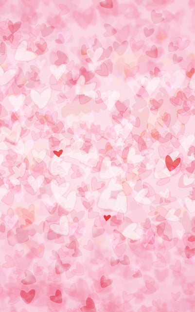 Valentine Hearts Backdrop • Love & Romance
