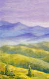 Watercolor Landscape Backdrop