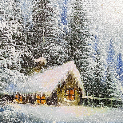 Winter Canvas Backdrop • Seasonal • Winter • Christmas