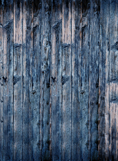 Wood Vertical Blue • Wood, Planks & Floors Backdrops