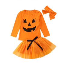 TAYTUM PUMPKIN FACE 3PC SET | CHILD