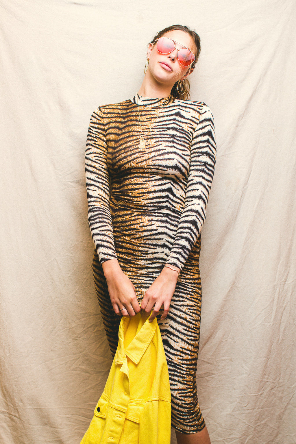 Hollywood Tiger Dress // Tiger Print