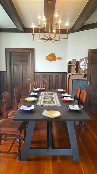Planked Dining Table