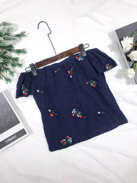 British Classic Floral Tops