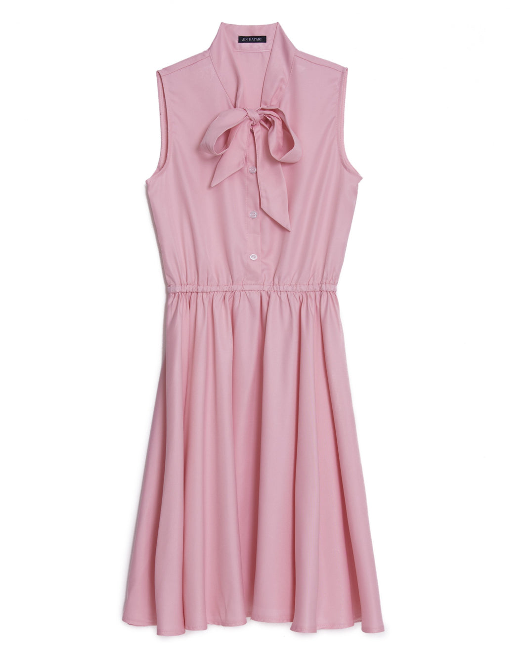 Ribbon Sleeveless Dress