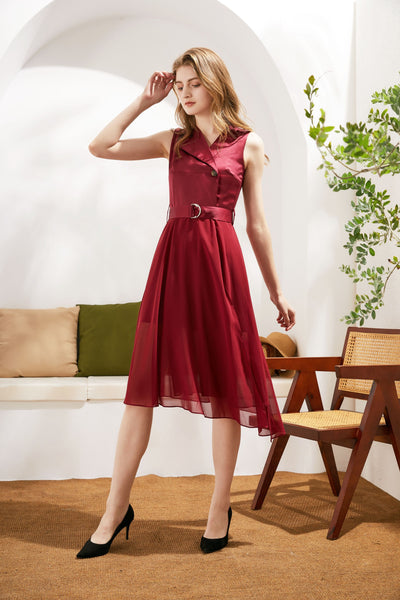Dasha Carnation Romance  Dress