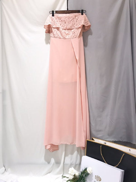 Resu Off Shoulder Long Dress