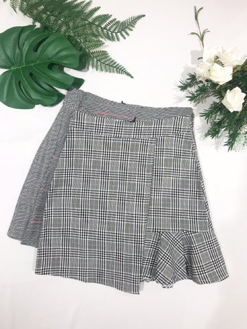Checkered Skirt