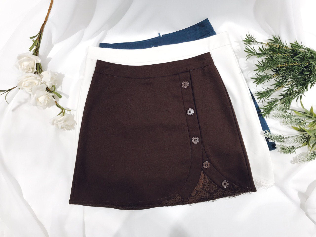 Skort With Lace
