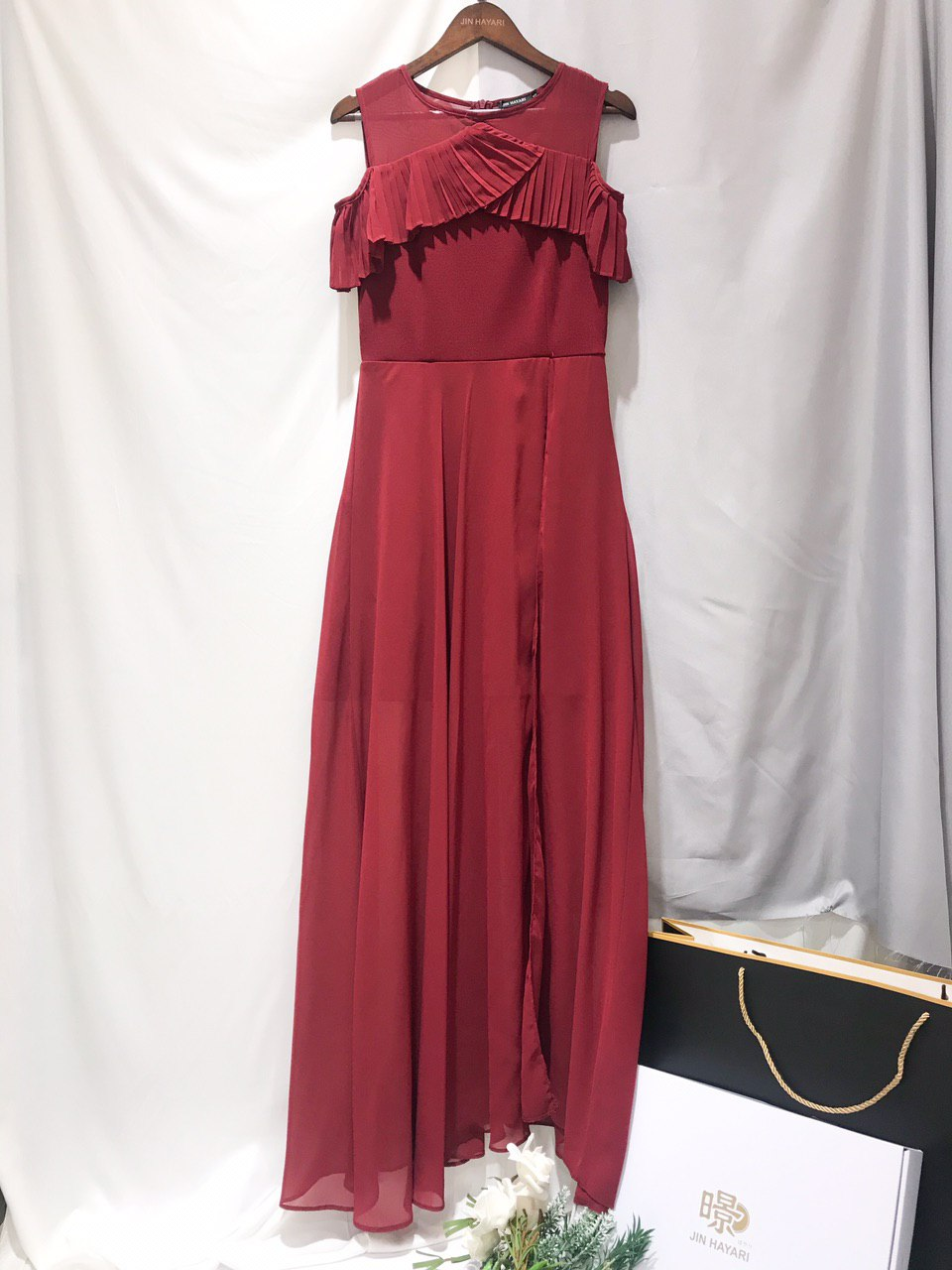 Maple  Long Dress