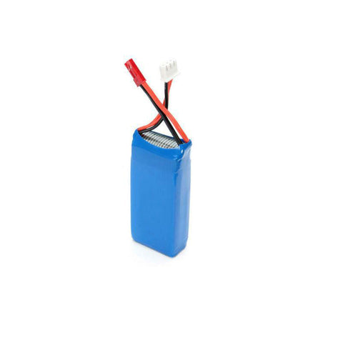 7.4V 1200mAh 30C 4-Piece Battery Pack for Drones