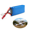Image of 7.4V 1200mAh 30C 4-Piece Battery Pack for Drones