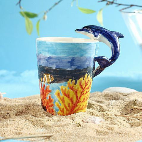 """COLORS OF THE OCEAN""  Mug"