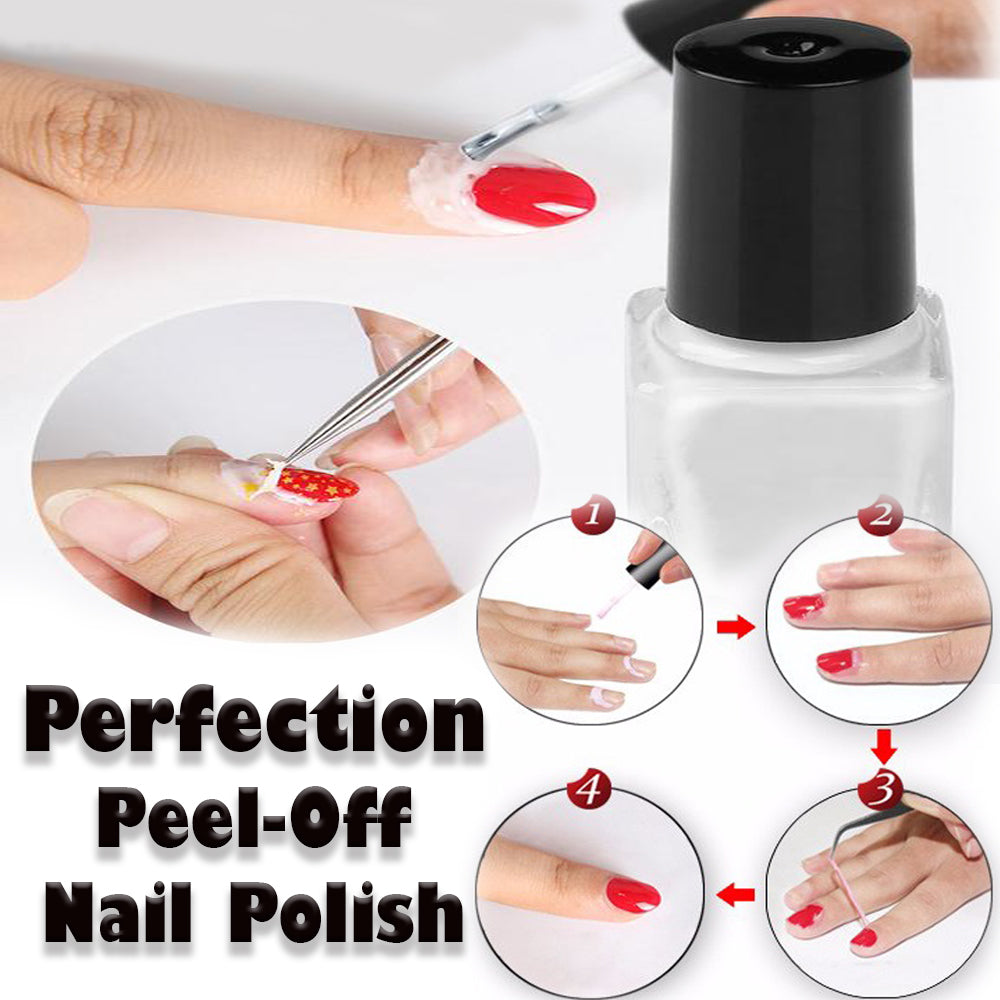 Perfection Peel Off Liquid Tape Nail Polish – Enlight Deals