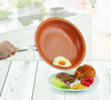 Image of Non-stick Copper Frying Pan with Ceramic Coating