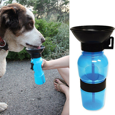 DOGGY TRAVEL WATER BOTTLE