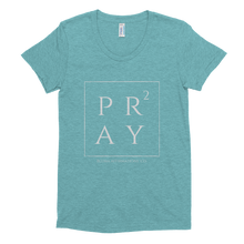 Pray Squared Women's Tri-Blend T-Shirt