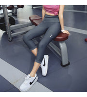 STEEL HIGH WAIST LEGGING GRAY