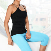 SPACE COLLECTION TANK BLACK by Moves Athletix