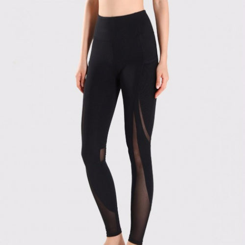FREEDOM LEGGING BLACK by Moves Athletix Sheer mesh