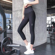 STEEL HIGH WAIST LEGGING BLACK