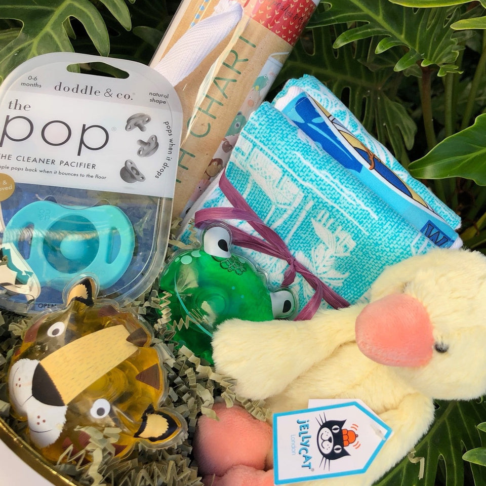 Custom Baby Basket - free delivery on Oahu