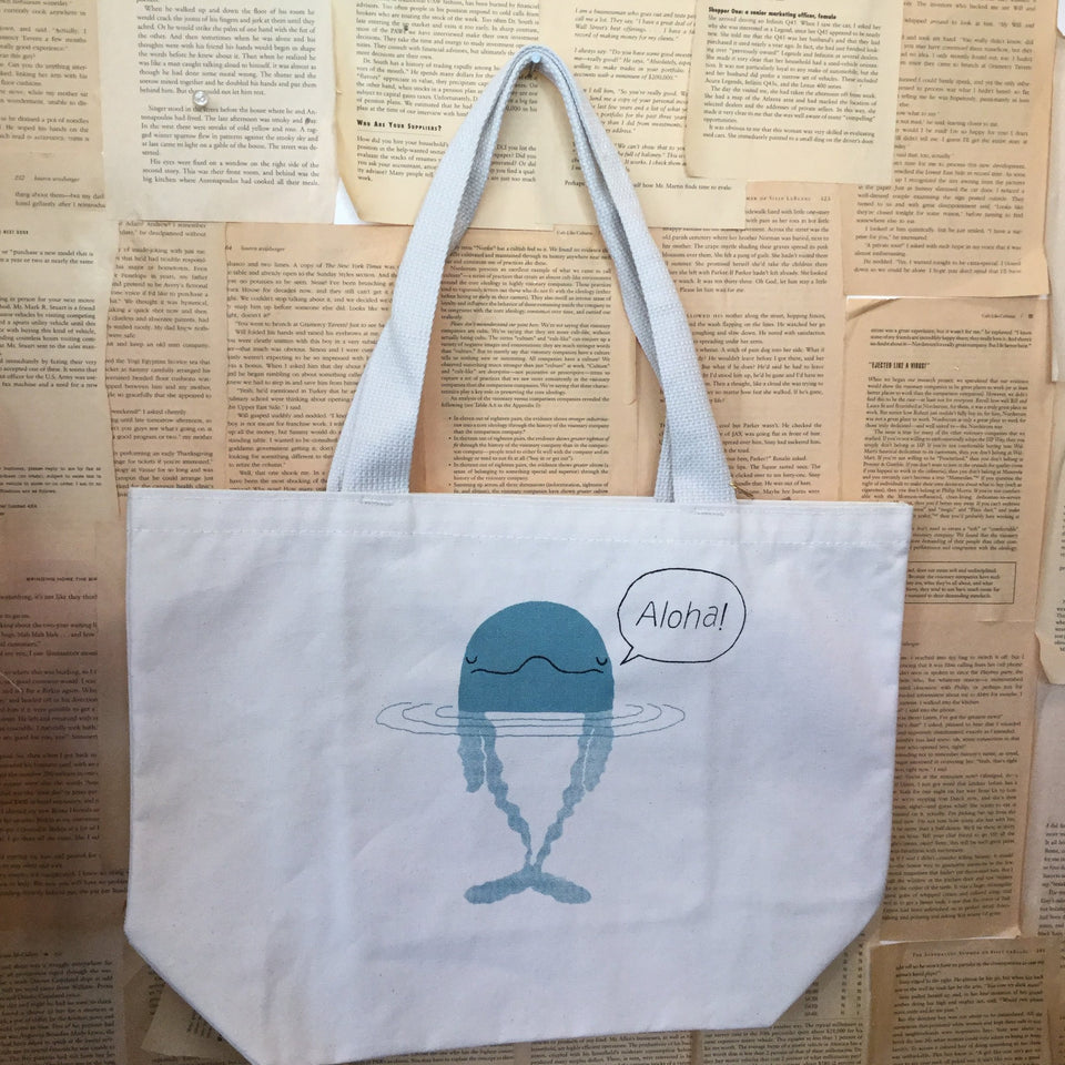 Dolphin tote - includes free delivery on Oahu
