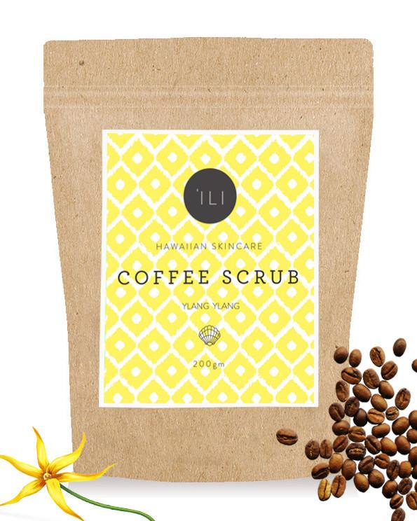 Coffee or Salt Scrub by 'Ili