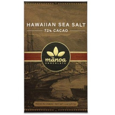 Hawaiian Sea Salt Bar / Manoa Chocolate