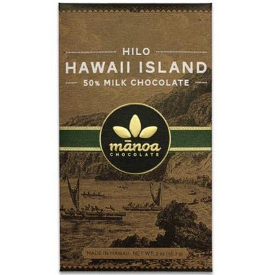 Hilo Hawaii Island 50% Milk Chocolate