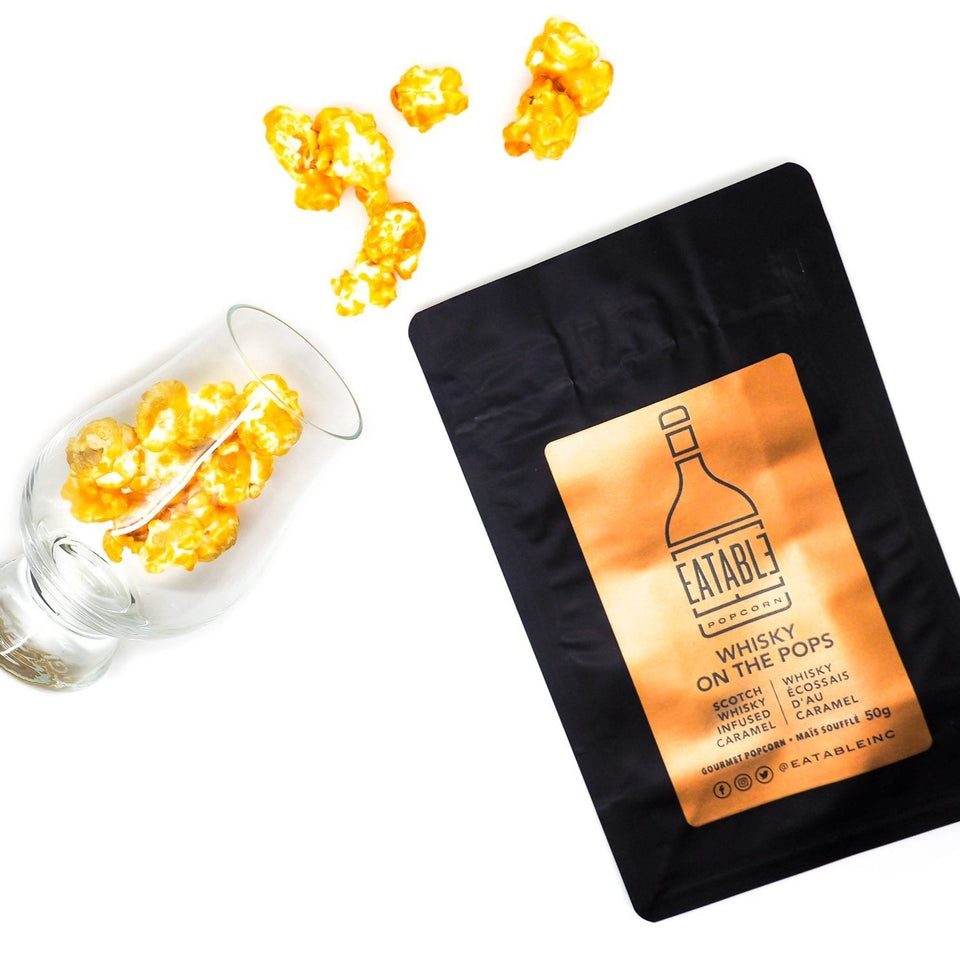 Infused Popcorn by Eatable