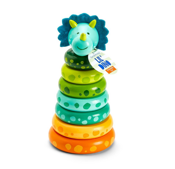 Lil' Dino Dinosaur Stacking Toy