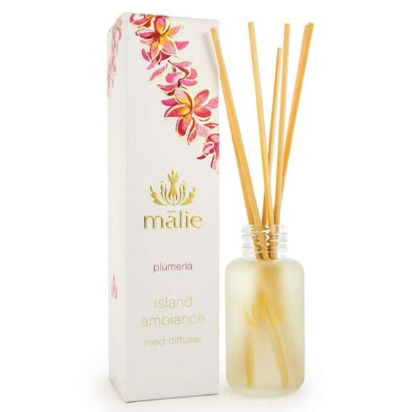 Plumeria reed diffuser from maile