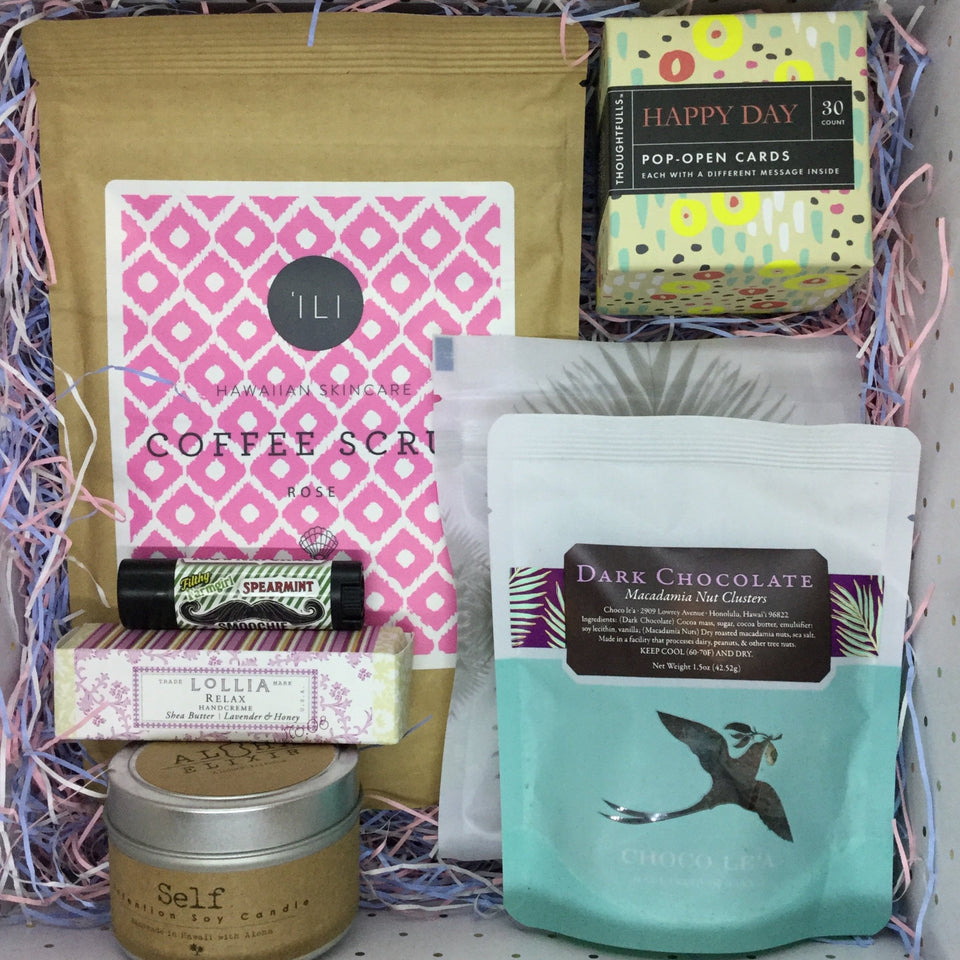 Custom Self Care - gift basket