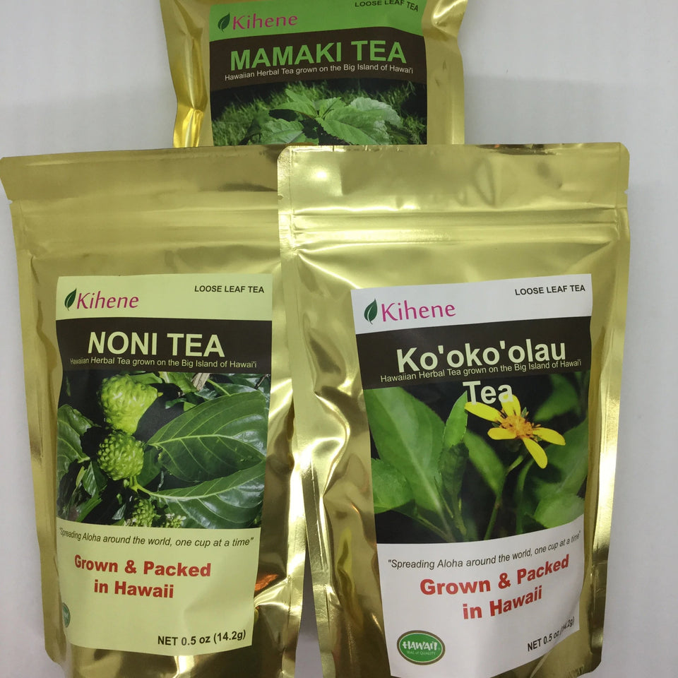 Kihene Tea - grown on the Big Island